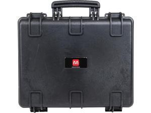 Monoprice Weatherproof Hard Case - 19in x 16in x 8in With Customizable Foam, IP67, Shockproof, Customizable Name Plate