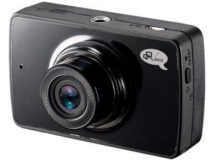 QQLinx Owl Eye True Full HD 1080P Dash Cam with 8GB SD Card - Super Night Vision, 140° wide angle, WDR, G-Sensor, Auto File Locking,  Hit and Record and Loop Recording