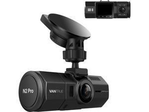 (Upgrade)Vantrue N2 Pro Uber Dual Dash Cam Infrared Night Vision, Dual Channel 1080P Front and Inside Dash Cam, 2.5K Single Front Car Accident Dash Camera, 24hr Motion Sensor Parking Mode