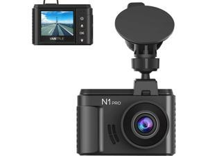 Vantrue N1 Pro Mini Dash Cam Full HD 1920x1080P Car Dash Camera 1.5 inch 160 Degree DashCam with Sony Night Vision Sensor, 24 Hours Parking Mode, Motion Sensor, Collision Detection, Support 256GB TF