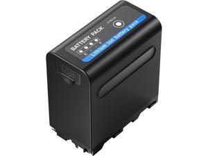 Powerextra Multifunctional Battery Pack with USB Output for Sony NP-F970, NP-F975, NP-F960, NP-F950, NP-F930 Battery
