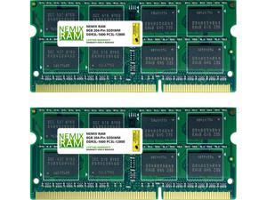 16GB (2x8GB) DDR3 1600 (PC3 12800) SODIMM Laptop Memory RAM