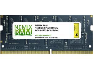 16GB DDR4-2933 PC4-23400 SO-DIMM Laptop Memory by Nemix Ram