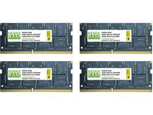 128GB (4 x 32GB) DDR4-2933 PC4-23400 SODIMM Laptop Memory by Nemix Ram