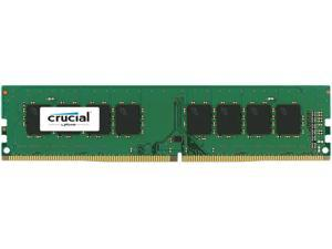 Crucial 4GB Single DDR4 2666 MT/s (PC4-21300) CL19 x8 UDIMM 288-Pin Memory - CT4G4DFS8266