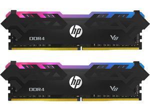 HP V8 RGB 16GB (2 x 8GB) 288-Pin DDR4 3000 UDIMM Desktop Memory Model 8MG00AA#ABC
