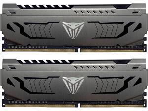 Patriot Viper Steel DDR4 16GB (2 x 8GB) 3400MHz Kit w/Gunmetal Grey heatshield