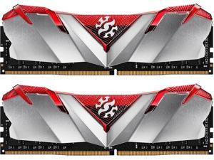 XPG GAMMIX D30 Desktop Memory: 32GB (2x16GB) DDR4 3200MHz CL16 Red