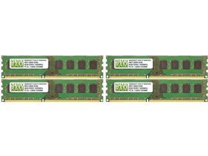 NEMIX RAM 32GB (4 x 8GB) DDR3 1600 (PC3 12800) Desktop Memory Module - MD12800-828LK04-517