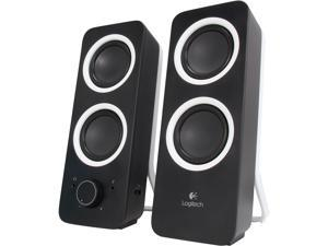 Logitech Z200 Stereo Speakers Logitech 2.0 Speaker System - Black