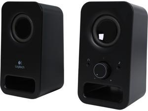 Logitech Z150 Multimedia Speakers Logitech Z150 2.0 Speaker System - Midnight Black