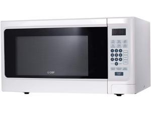 Commercial Chef CHCM11100W 1.1 cu. ft. 1000 watts Microwave Oven, White