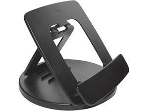 Kantek Rotating Foldable Desk Top Tablet Stand Black