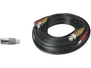 Night Owl CAB-60 60 Feet BNC Video/Power Camera Extension Cable with Adapter