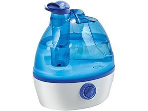 Comfort Zone CZHD24 Whisper-Quiet Cool Mist Portable Ultrasonic Humidifier with Dual Nozzles and Auto Shut-Off