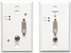 Tripp Lite DVI Over Cat5/Cat6 Extender Kit, Extended Range Video Transmitter & Receiver, 1920x1080 at 60Hz, TAA (B140-1A1-WP)
