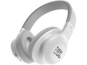 JBL E55BT Over-ear Wireless Headphones (White)