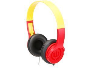 Wicked Audio Rad Rascal Wired Kid Safe Headphones - Ketchup/Mustard