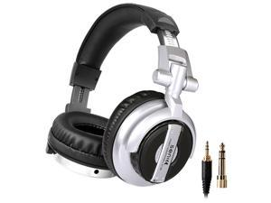 Somic ST-80 Professional DJ Headphones Stereo Studio Earphone, Gaming Monitor Headset with 3.5mm and 6.3mm Jack