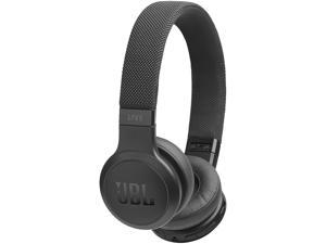 JBL LIVE 400BT With Google, Alexa Voice Bluetooth Over-Ear Headphones - Black