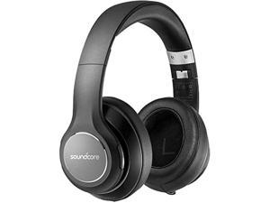 Soundcore Vortex Wireless Headset by Anker Over Ear Headphones, 20H Playtime, Deep Bass, Hi-Fi Stereo Earphones for PC/Phones/TV, Soft Memory-Foam Ear Cups, w/Mic and Wired Mode