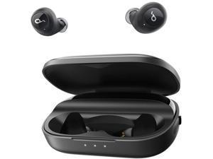 Soundcore Liberty True-Wireless Headphones, 100-Hour Playtime, Bluetooth 5 Wireless Earbuds, Graphene Driver Technology, Sweatproof True Wireless Earbuds, Smart AI, Stereo Handsfree Calls