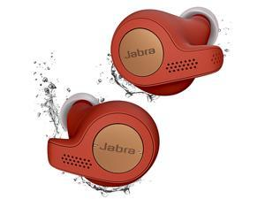 Jabra Elite Active 65t - Red True Wireless Sport Earbuds Copper Red
