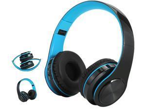 FirstPower Wireless Bluetooth Headphones Foldable Stereo Earphones Super Bass Headset Mic