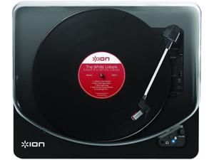 Ion Audio - IT55 - ION Air LP IT55 Record Turntable - 78, 45, 33.33 rpm - Piano Black