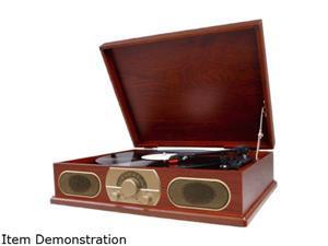 Studebaker SB6051 Wooden Turntable with AM-FM Radio