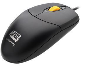 ADESSO IMOUSEW3 ADESSO IP67 RATED WATERPROOF ,ANTIMICROBIAL  USB MOUSE WITH MAGNETIC SCROLL WHEE