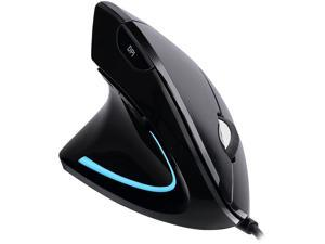 Adesso Mouse iMouseE9 Left-Handed Vertical Ergonomic Mouse w/DPI Switch Retail