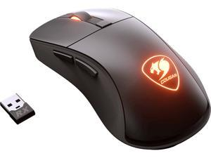 COUGAR SURPASSION RX Black Wireless Optical Gaming Mouse, 3MSRFWOB.0001