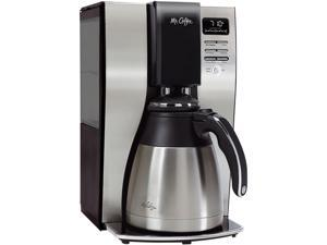 Optimal Brew 10-Cup Thermal Programmable Coffeemaker Black/Brushed Silver