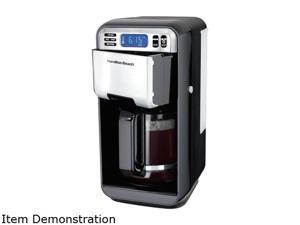 Hamilton Beach 12 Cup Digital Automatic LCD Programmable Coffee Maker Brewer
