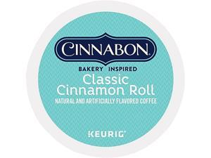 Cinnabon Classic Cinnamon Roll Coffee K-Cups, 24/Box
