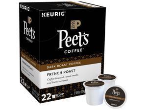 French Roast Coffee K-Cups, 22/Box 6545