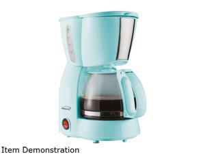 Brentwood Appliances TS-213BL 4-Cup Coffee Maker, Blue