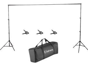 Kshioe 10FT Adjustable Background Support Structure System Stand for Screen Backdrop