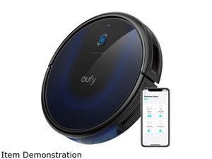 eufy BoostIQ RoboVac 15C MAX, Wi-Fi Connected, Super-Thin, 2000Pa Suction, Quiet, Self-Charging Robotic Vacuum Cleaner, Cleans Hard Floors to Medium-Pile Carpets, Black