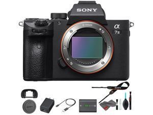 Sony Alpha a7 III Mirrorless Digital Camera (Body Only) - Base Bundle