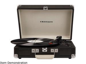 Crosley Cruiser Deluxe Portable Bluetooth Turntable, CHALKBOARD, CR8005D-CB