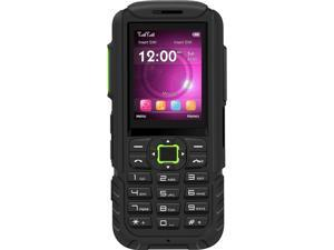 "BLU Tank Mega T570 Unlocked GSM Rugged Feature Phone (2.4"" Green, 32MB Storage  32MB RAM)"