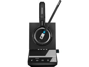 Sennheiser - 507024 - Sennheiser SDW 5066 Headset - Stereo - Wireless - DECT - 590.6 ft - 20 Hz - 20 kHz - Over-the-head