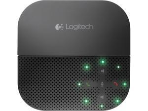 Logitech - 980-000741 - Logitech P710e Mobile Speakerphone - USB - Headphone - Black