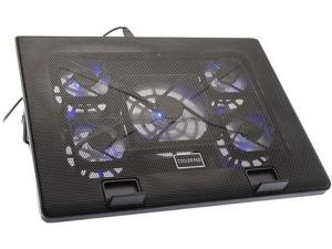 Fuji Labs Cooling Pad for 12 to 17 Inch Laptop, 2 USB Ports, Multi-angle Stand with 5 Fans