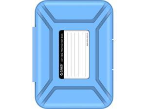 "ORICO 3.5-inch HDD Protector, Ultimate Villa For 3.5"" Hard Disk Drive , 3.5 Inch Protective Box/Storage Case, Anti-Static/Anti-Drop/Anti-Shake/Water Resistant/Dust Resistant Case - Blue (PHX-35)"