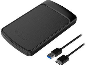 ORICO Tool Free 2.5 inch SATA to USB 3.0 Hard Drive Enclosure 5Gbps Up to 4TB UASP SSD HDD Case with Auto Sleep