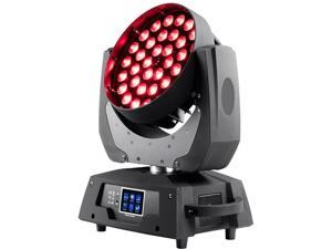 Monoprice Stage Wash Moving Head (RGBW) With Zoom, 10 Watt, x 36 LED  - Stage Right Series