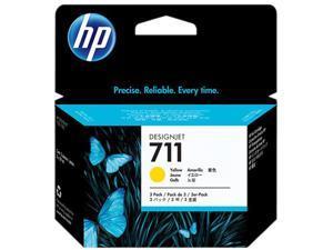 HP 711 Ink Cartridge - Triple Pack - Yellow